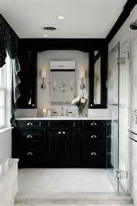 black bathrooms ideas always stylish classic color combinations