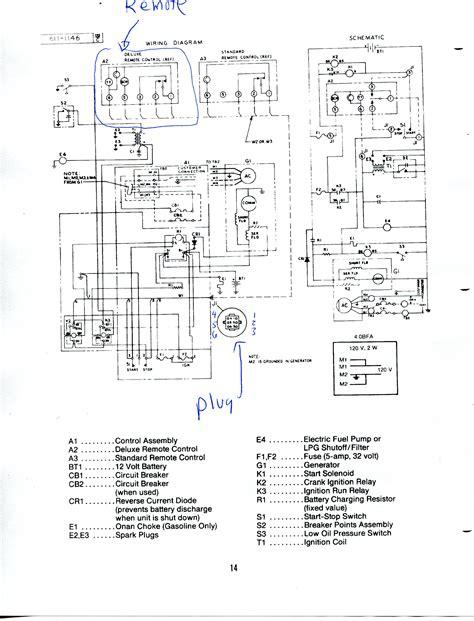 emerald 3 onan rv generator wiring diagram get free