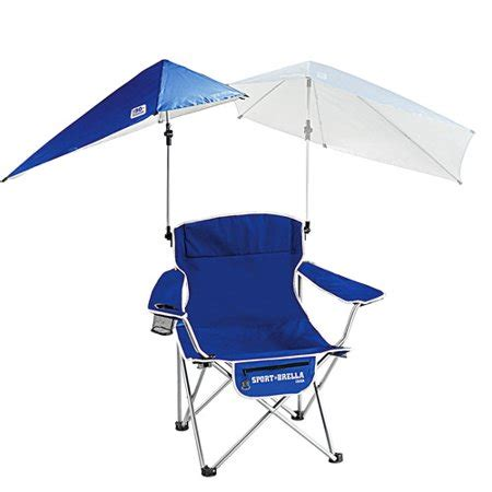 chair with umbrella attached walmart sport brella folding chair with detachable umbrella blue