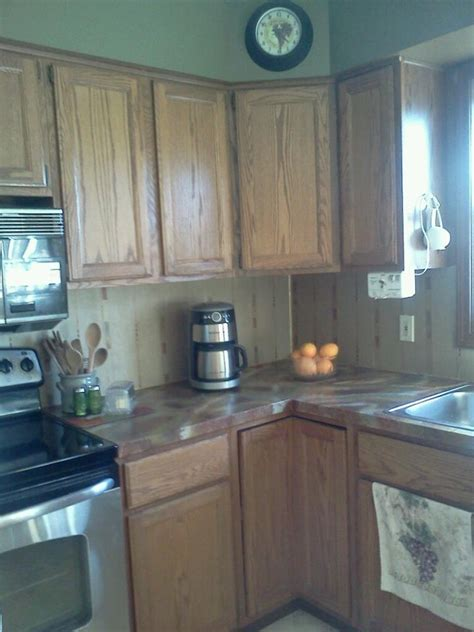 Brown Paper Countertops by Brown Paperbag Countertops Kitchen