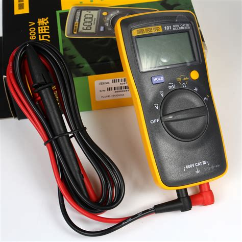 Multimeter Fluke 101 new fluke 101 handheld digital multimeter f101 small