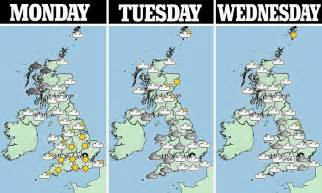 uk braced for arctic weather daily mail online uk weather britain faces three week arctic freeze daily