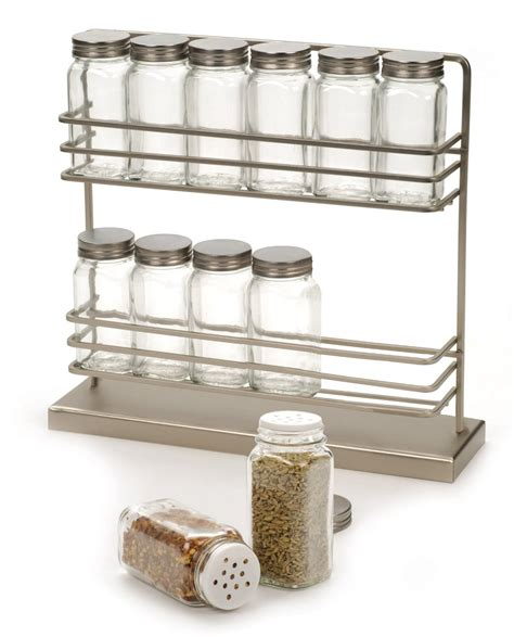 In Drawer Spice Racks 2 Tier Countertop Spice Rack Sqr 12 43 00