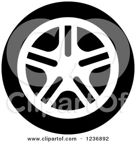 clipart black  white wheels royalty  vector illustration  vector tradition sm