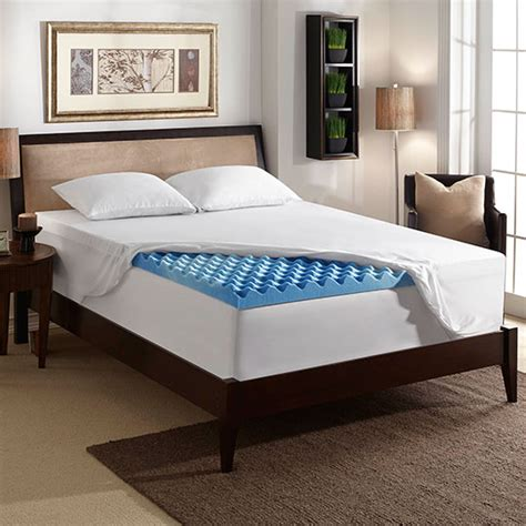 Memory Foam Mattress Toppers That Keep You Cool by 3 Inch Gel Mattress Topper With Air Channels Sleep