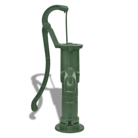 tuin waterpomp gietijzeren tuin hand waterpomp online kopen vidaxl nl