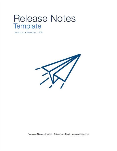 release notes template release notes template apple iwork pages