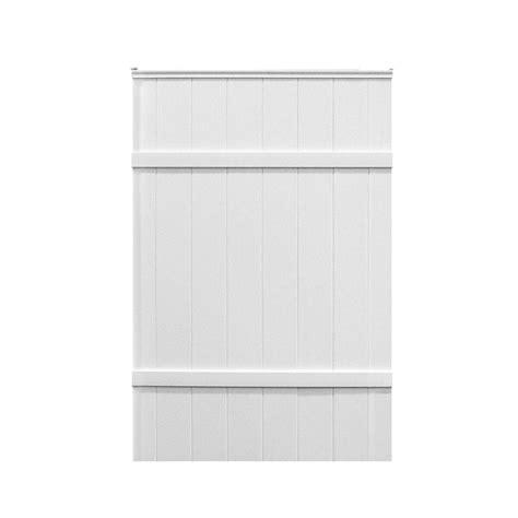 veranda windham 3 1 2 ft w x 5 3 4 ft h white vinyl pre