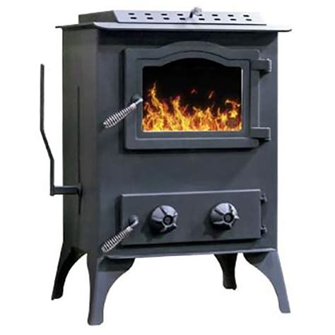Coal Fireplaces by Shop 2500 Sq Ft Coal Stove At Lowes