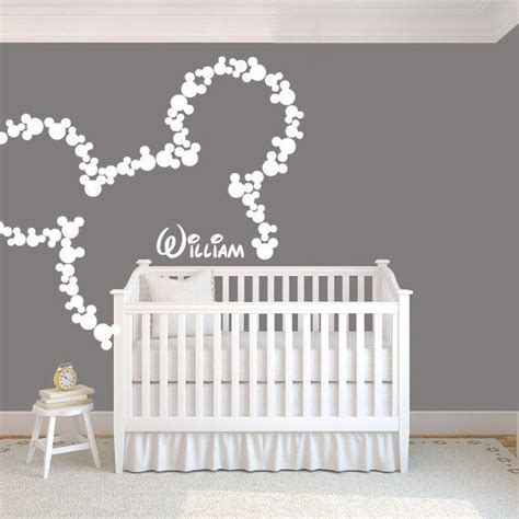 Mickey Mouse Nursery Decor 25 Best Ideas About Mickey Mouse Wall Decals On Pinterest Disney Baby Rooms Minnie Mouse