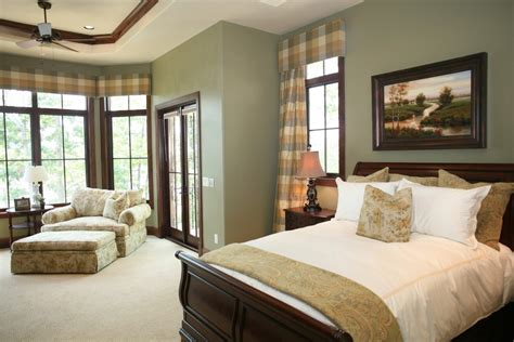 united states sage green home bedroom traditional