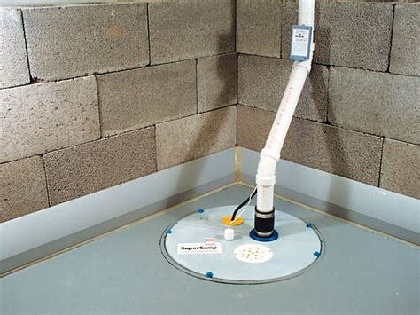 baseboard basement drain pipe system in central western