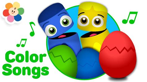 color song eggs colors special color song nursery rhymes