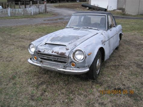 nissan fairlady 1969 1969 datsun roadster 2000 fairlady project for sale