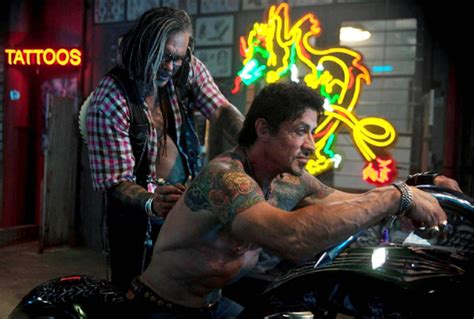 expendables tattoo hd new expendables salt trailers browntails