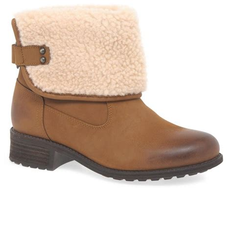Charles Delon Cdm1001 Brown Water Resistant lyst ugg aldon womens ankle boots in brown