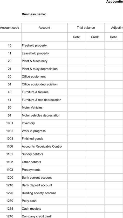 apa format table of contents exle download accounting worksheet templates for free