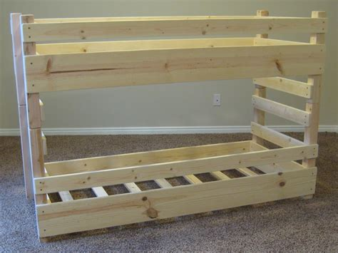 how to make a bunk bed diy bunk beds kids toddler diy bunk bed plans fits crib