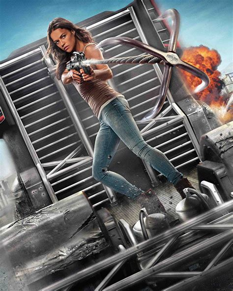 fast and furious 8 michelle rodriguez fonds d ecran michelle rodriguez fast and furious 8 cin 233 ma