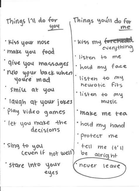 Tumblr Memes List - couple list on tumblr