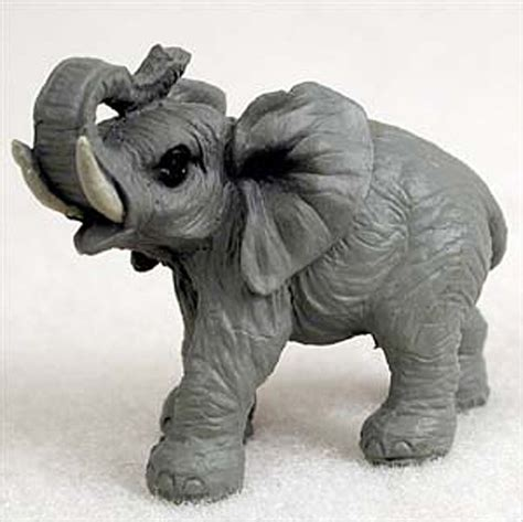 elephant figurines elephant mini resin hand painted wildlife animal figurine