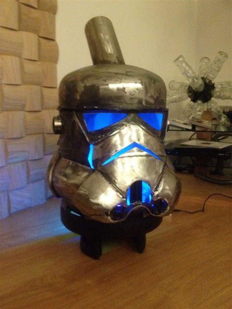 stormtrooper log burner  gas bottles diy projects