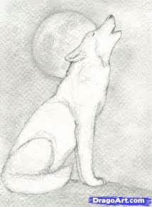 How To Draw A Wolf That Is Easy Wolves To Draw Step 9 How To Draw A Howling Wolf