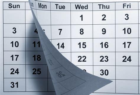 Duration Calendar Calendar Time Passing Marr Associates