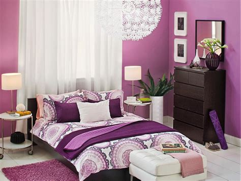 Purple Bedroom by Dreamy Bedroom Color Palettes Bedrooms Bedroom