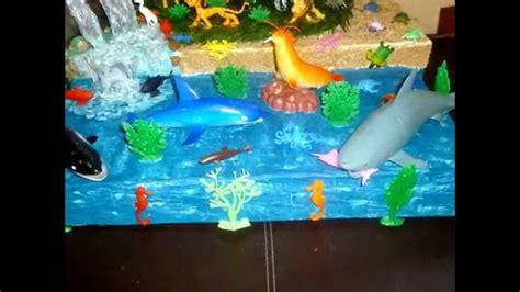 Como Hacer Una Maqueta Del Oceano   mountain and ocean diorama maqueta de monta 241 a y oc 233 ano