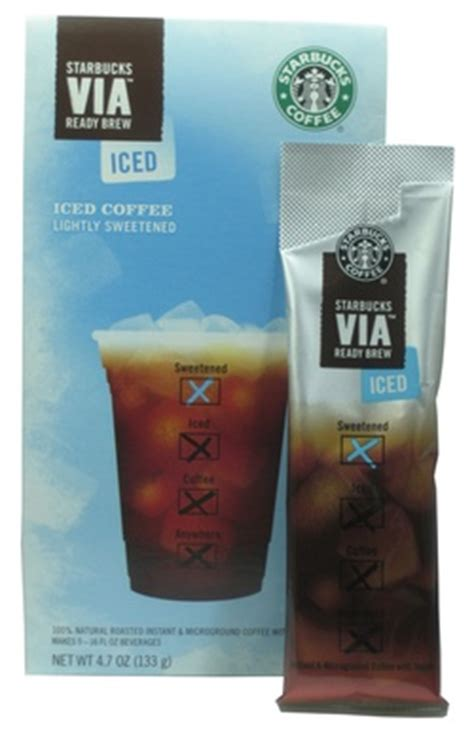 starbucks via iced coffee caffeine consuming and the american 187 instant coffee