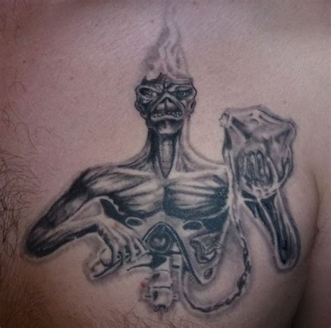 7th son tattoo 254 best images about eddie tattoos on rock
