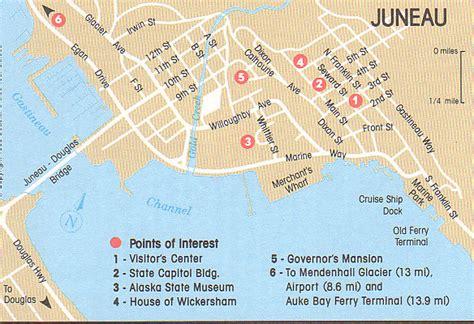 seattle to juneau map juneau hauptstadt alaska