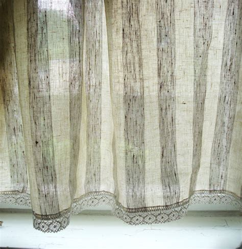 linens kitchen curtains striped linen curtain kitchen linen panels linen cafe curtains
