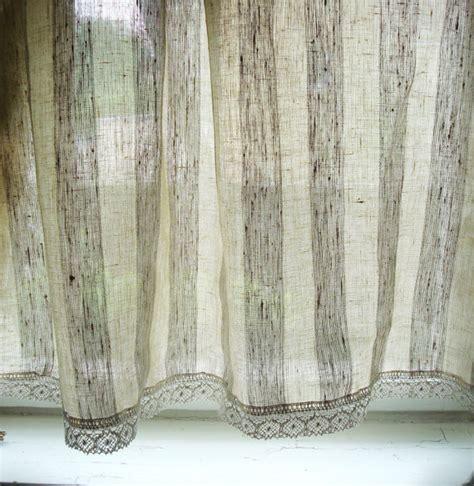 linen kitchen curtains striped linen curtain kitchen linen panels linen cafe curtains