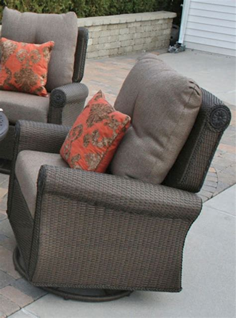 Giovanna Luxury Wicker/Cast Aluminum Patio Furniture Deep
