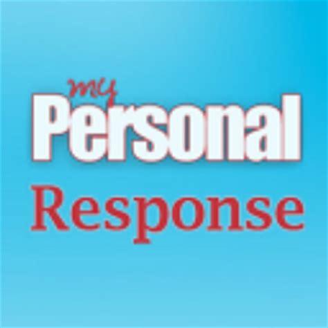 My Personal my personal response mypersresponse