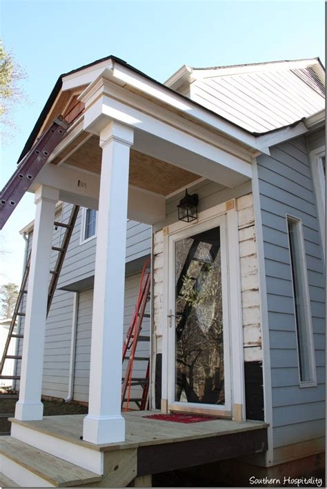 building  front portico house  porch portico entry
