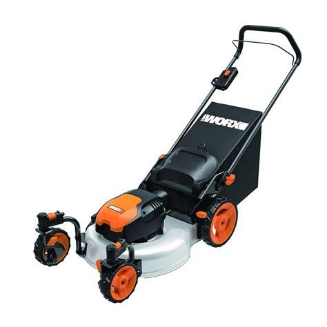 upc 845534012552 worx lawn mowers 19 in 13a corded walk