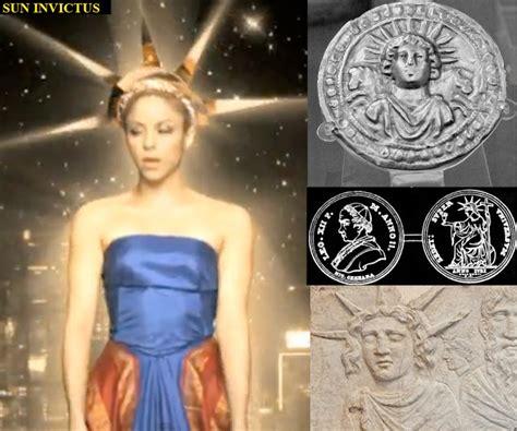 shakira illuminati el rincon paranormal shakira y el simbolismo illuminati