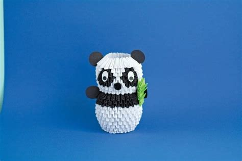 3d Origami Panda - 3d origami panda 183 extract from 3d origami by