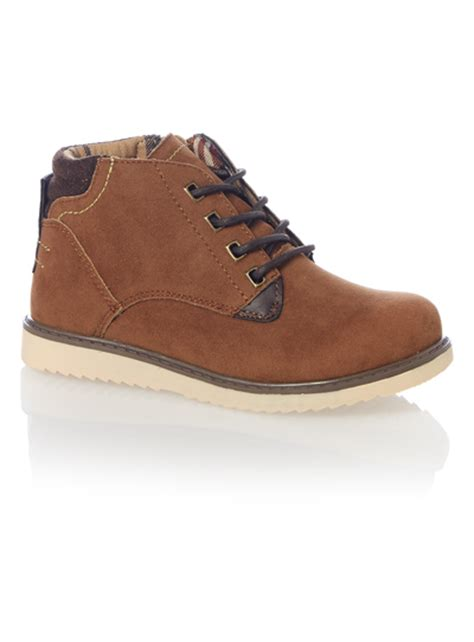 light brown lace up boots all boy s clothing boys light brown lace up chukka boot