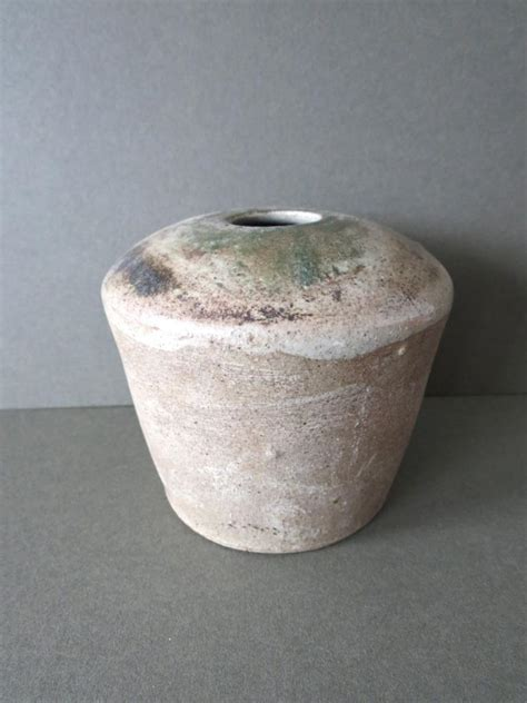 Pottery Vase Signatures vintage raku pottery vase signed ebay