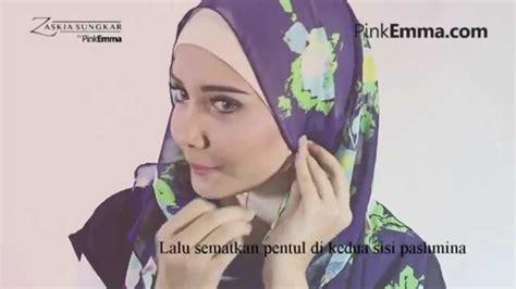 tutorial hijab pashmina zaskia sungkar tutorial hijab pashmina zaskia sungkar til chic dengan