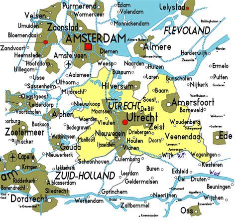 netherlands brewery map map of utrecht in netherlands