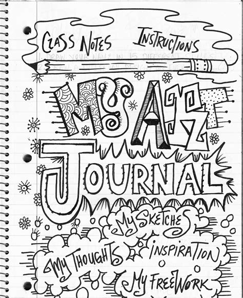 Drawing Journal Ideas the lost sock class journaling