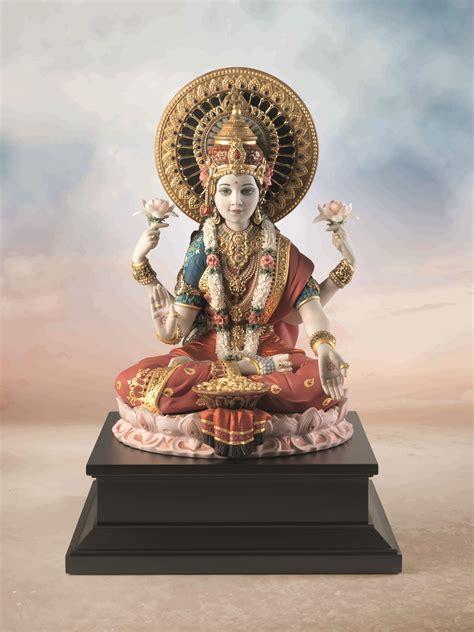 Home Interior Figurines goddess lakshmi lladro www stylecity in style city