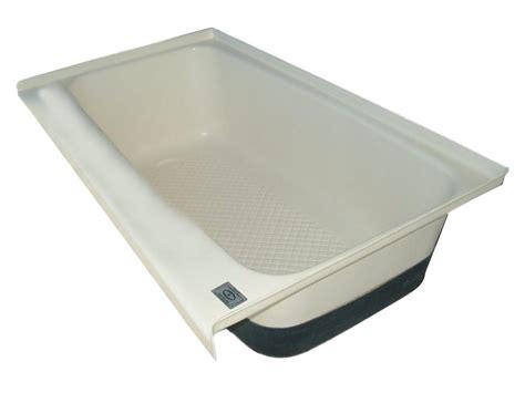 rv bathroom accessories tub rv bath left hand drain polar white tu700lh icon technologies 00482