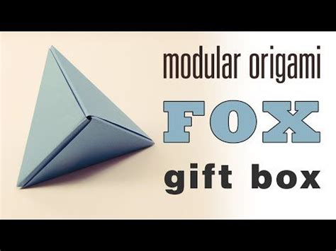 Modular Origami Box - modular origami origami boxes and origami box tutorial on