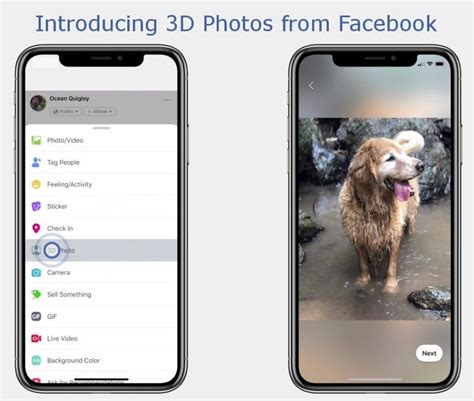 iphone 3d photo launches 3d photos feature that uses portrait mode images from iphone macrumors